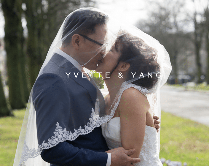 Trouwdag Yvette & Yang