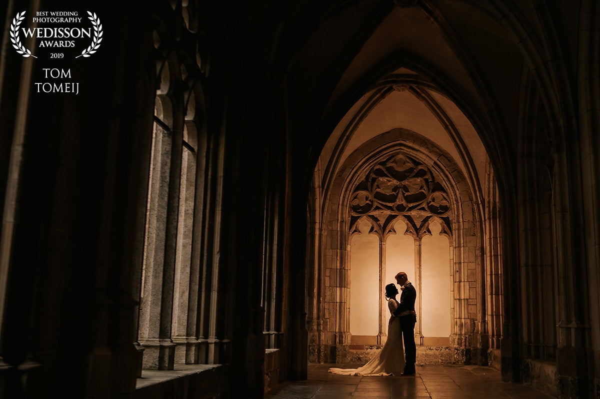 bruidsfotograaf pandhof Utrecht