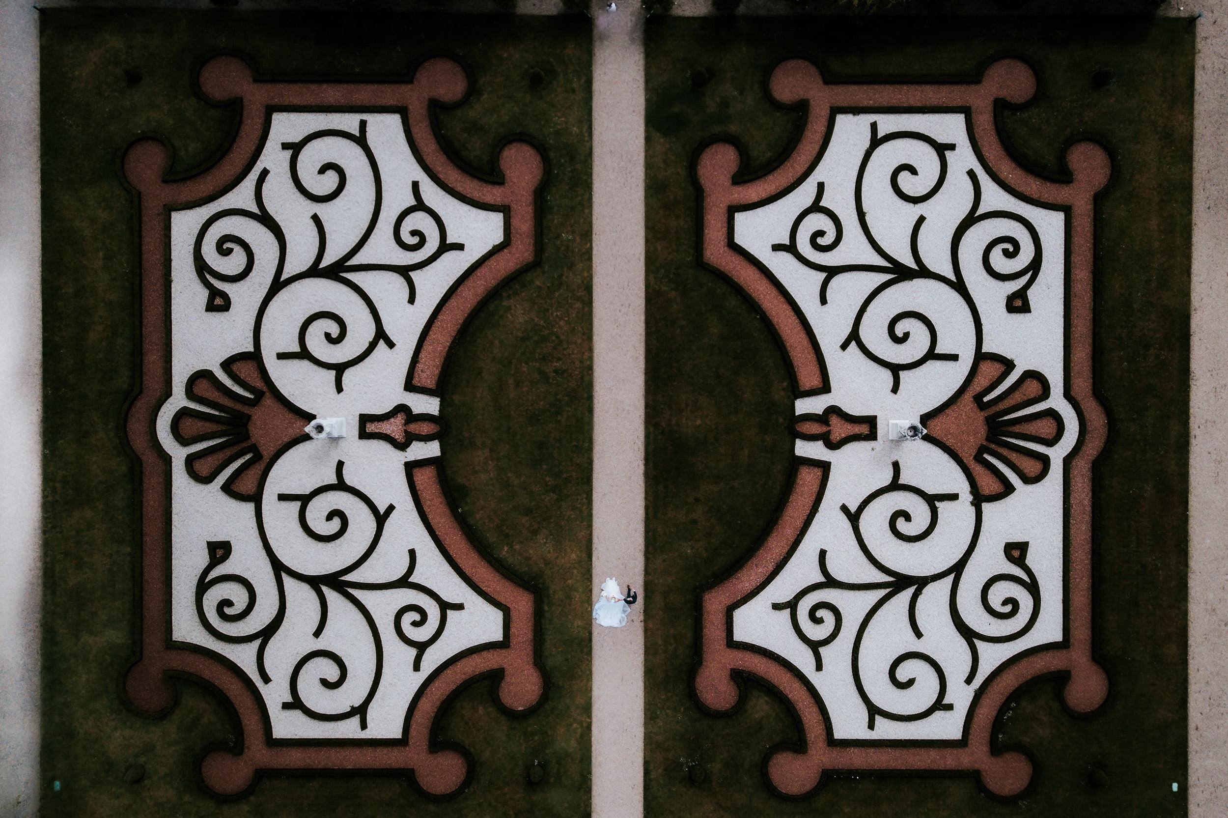 Drone foto trouwfotograaf