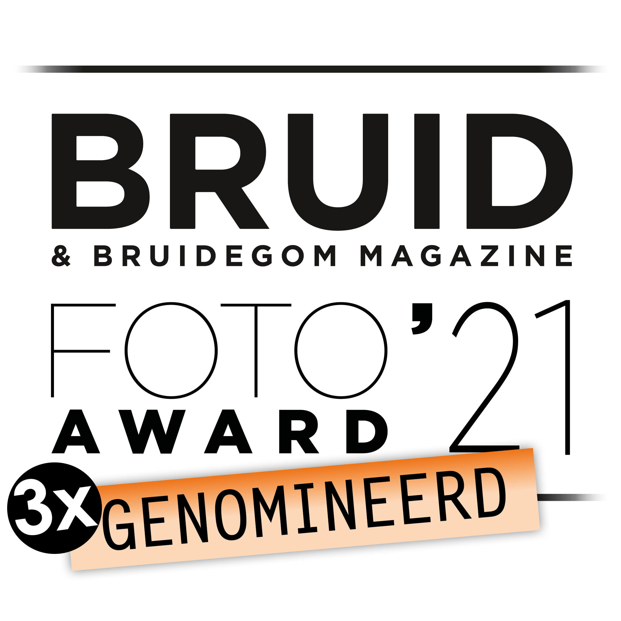 Bruidsfoto Award Tom Tomeij